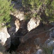 Equipement broché du puits d'entrée