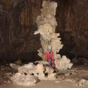 Un massif stalagmitique ... parmi d'autres